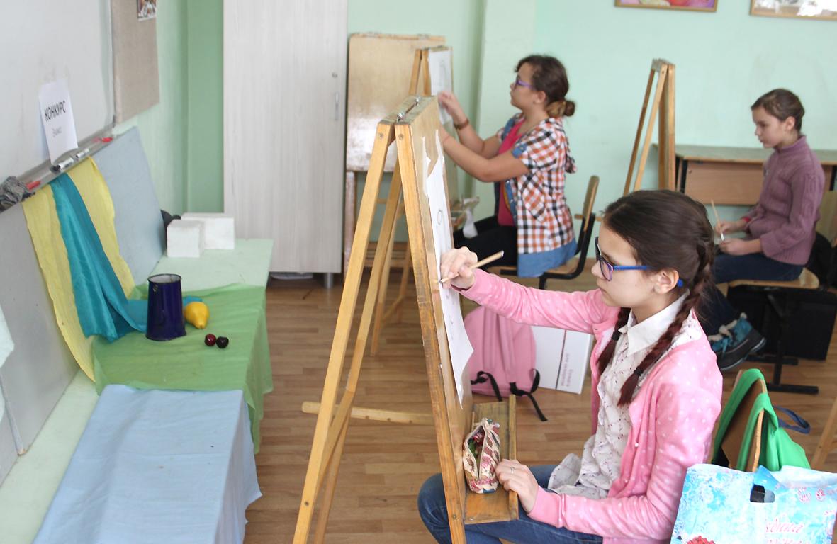 Конкурсы для художественной школы 2017